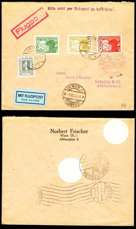 österreich Flugpost Nr 476478469 Brief Mif 28b3ea Nr 44300819330