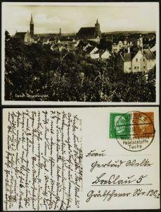 D-REICH 1928 Nr 410 BRIEF MIF ANSICHTSKARTE 18F4AA