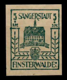 LOKAL-AUSG 1945 FINSTERWALDE Nr 3b postfrisch 710E8E