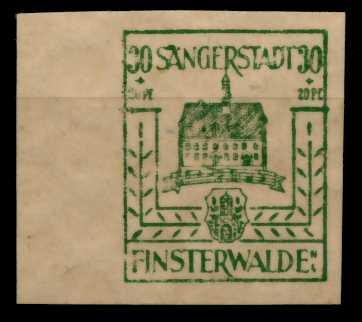 LOKAL-AUSG 1945 FINSTERWALDE Nr 9b postfrisch 710E7A