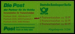 BERLIN MARKENHEFTCHEN Nr MH 14mZ postfrisch 7435E2