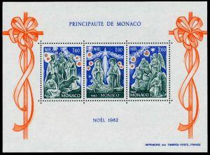 MONACO Block 21 postfrisch 79D606