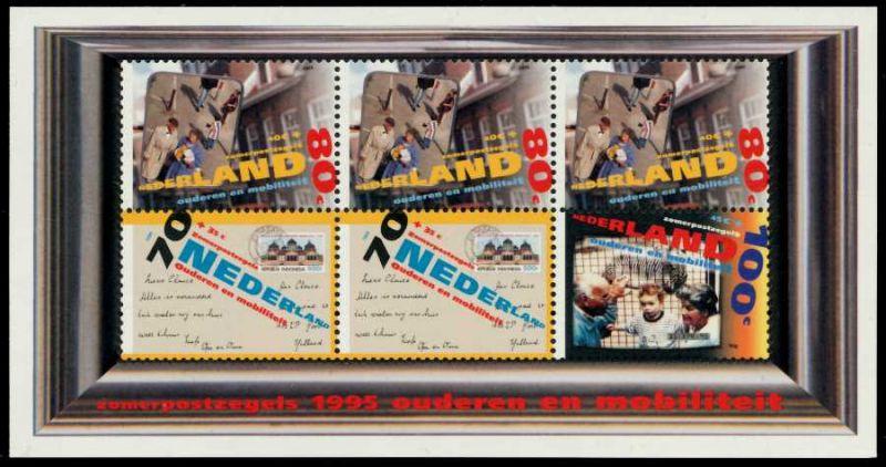 NIEDERLANDE Block 43 postfrisch S0076B2