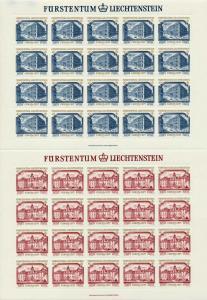 LIECHTENSTEIN Nr 692KB-693KB postfrisch KLEINBG 7A6CD6