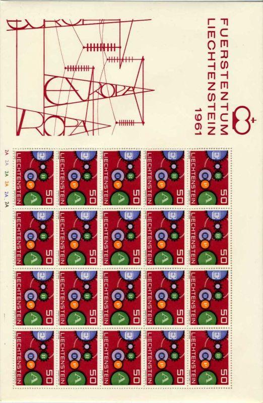 LIECHTENSTEIN Nr 414I-BO-2A postfrisch BO S54517E