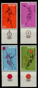 ISRAEL Nr 304-TAB-307-TAB postfrisch 7BD53A