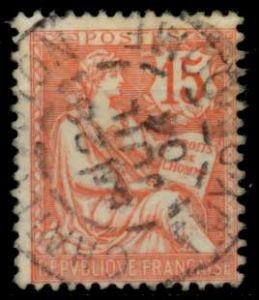 FRANKREICH 1902 Nr 103 zentrisch gestempelt 8307F6