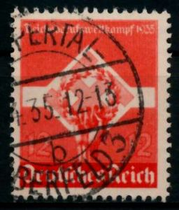 3. REICH 1935 Nr 572x gestempelt 861132