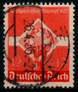 3. REICH 1935 Nr 572x gestempelt 86111A