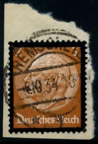 3. REICH 1934 Nr 548 gestempelt Briefst³ck zentrisch 864616