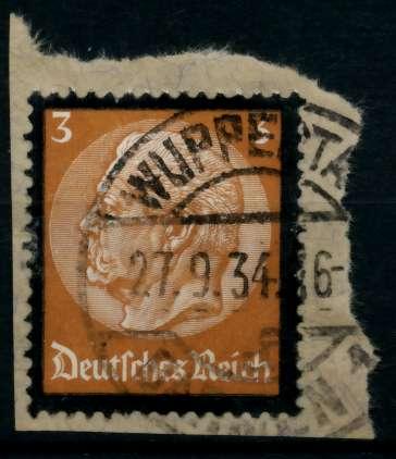 3. REICH 1934 Nr 548 gestempelt Briefst³ck zentrisch 8645FA