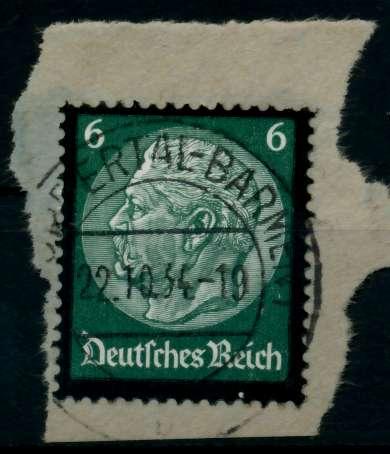 3. REICH 1934 Nr 550 gestempelt Briefst³ck zentrisch 8645EA