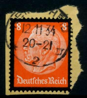 3. REICH 1934 Nr 551 gestempelt Briefst³ck zentrisch 86460E