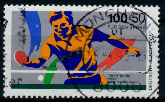 BRD 1989 Nr 1408 zentrisch gestempelt 86DBCE