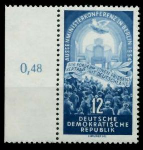 DDR 1954 Nr 424YI postfrisch SRA 8C227A