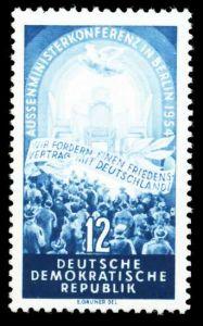 DDR 1954 Nr 424YI postfrisch SF88DD2