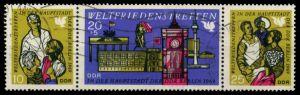 DDR ZD Nr WZd 207 gestempelt 3ER STR 8D09FA