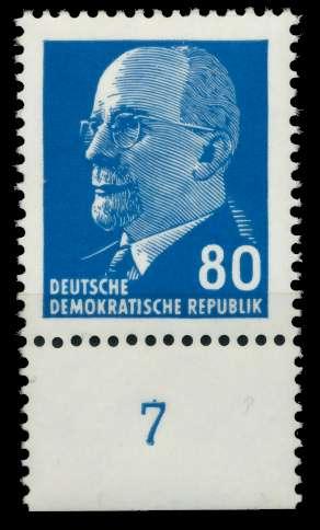 DDR 1967 Nr 1331axII UR3 postfrisch URA 8DBBE2