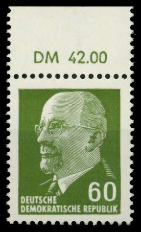 DDR 1964 Nr 1080 OR1 DM postfrisch ORA 8DBC16