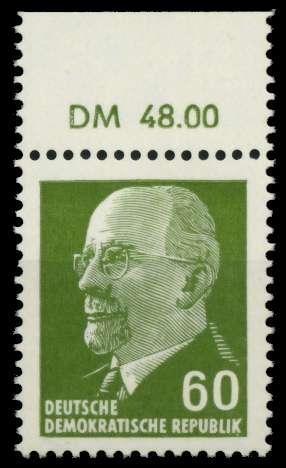 DDR 1964 Nr 1080 OR1 DM postfrisch ORA 8DBC2E