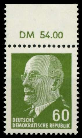 DDR 1964 Nr 1080 OR1 DM postfrisch ORA 8DBC4E