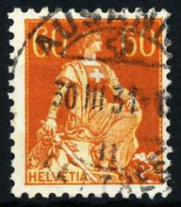 SCHWEIZ 1917 Nr 140x gestempelt 4C63FE