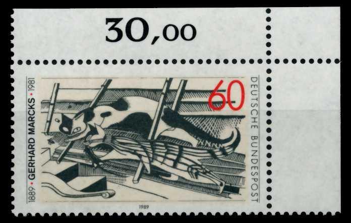 BRD 1989 Nr 1410 postfrisch ECKE-ORE 8F7A86