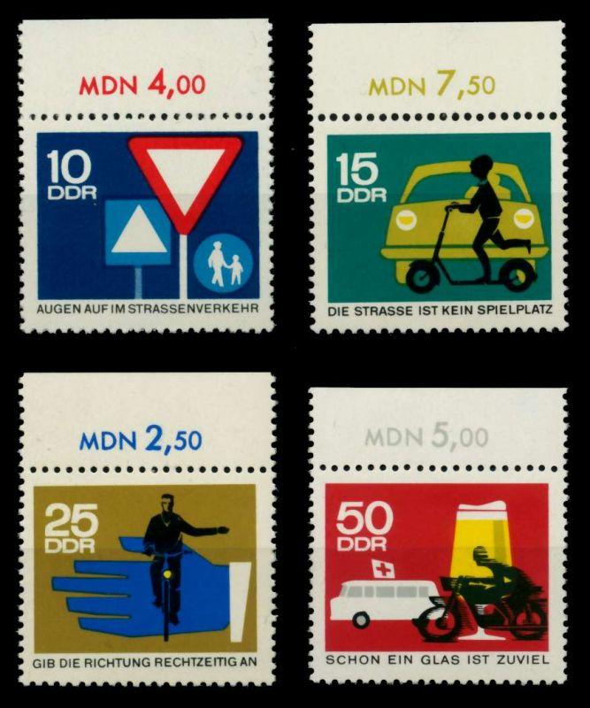 DDR 1966 Nr 1169-1172 postfrisch ORA 90496E