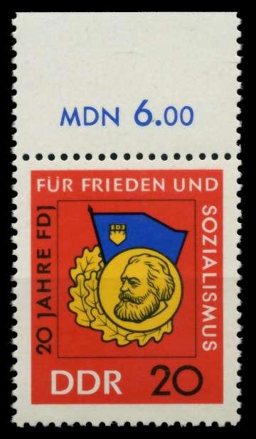 DDR 1966 Nr 1167 postfrisch ORA 9049A6