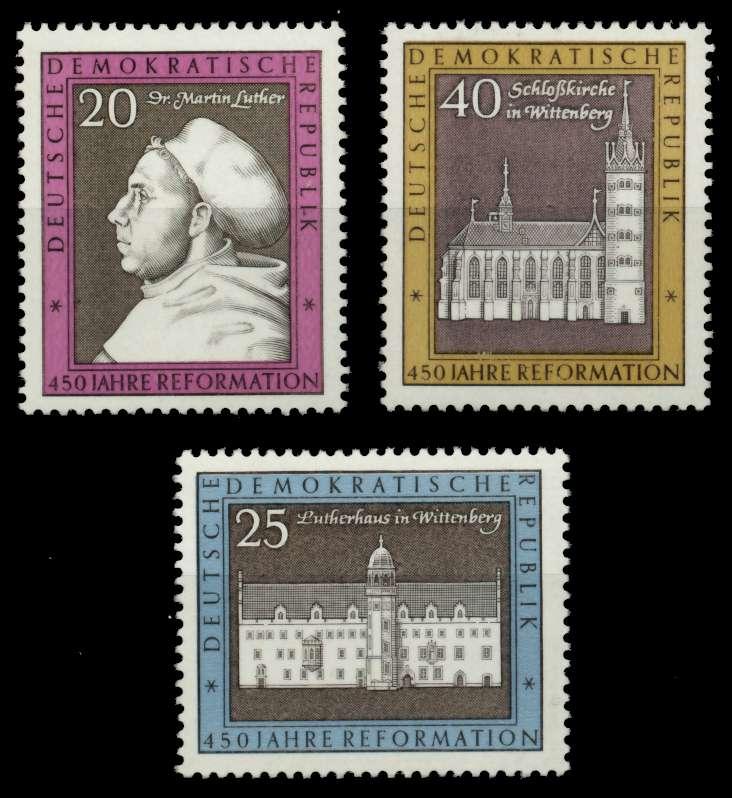 DDR 1967 Nr 1317-1319 postfrisch SFE73DE 0