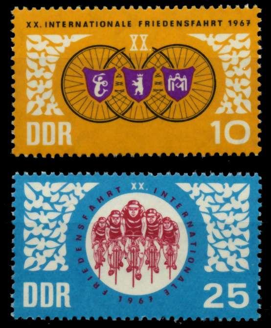 DDR 1967 Nr 1278-1279 postfrisch SFE7266 0
