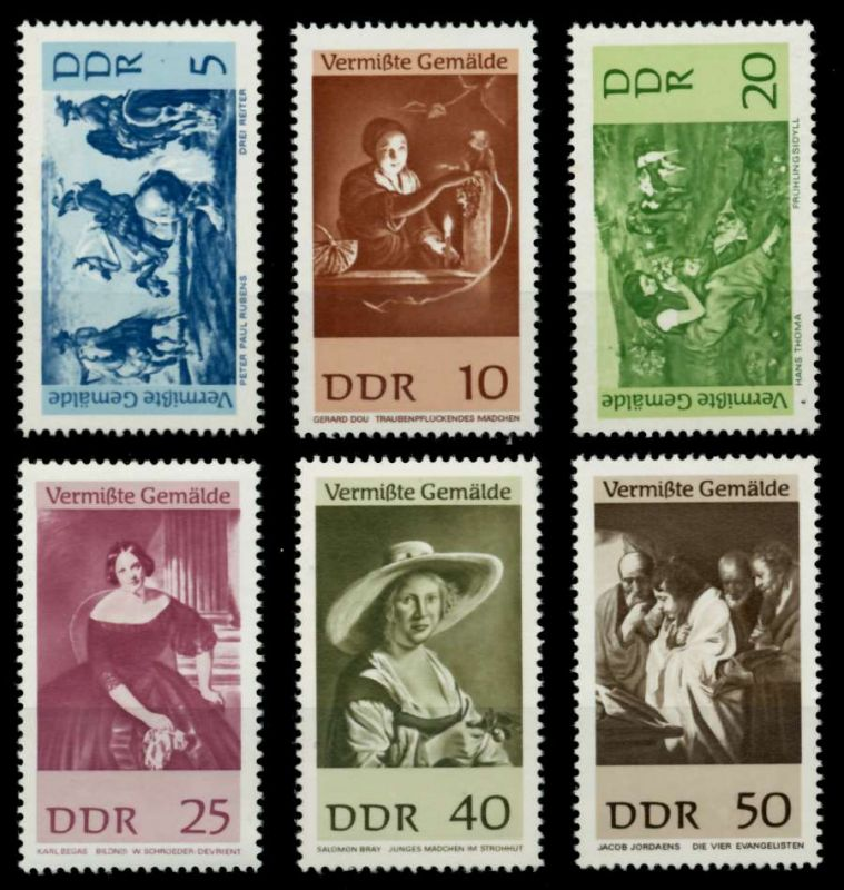 DDR 1967 Nr 1286-1291 postfrisch SFE72F2 0