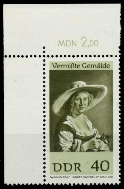 DDR 1967 Nr 1290 postfrisch ECKE-OLI 907A46 0