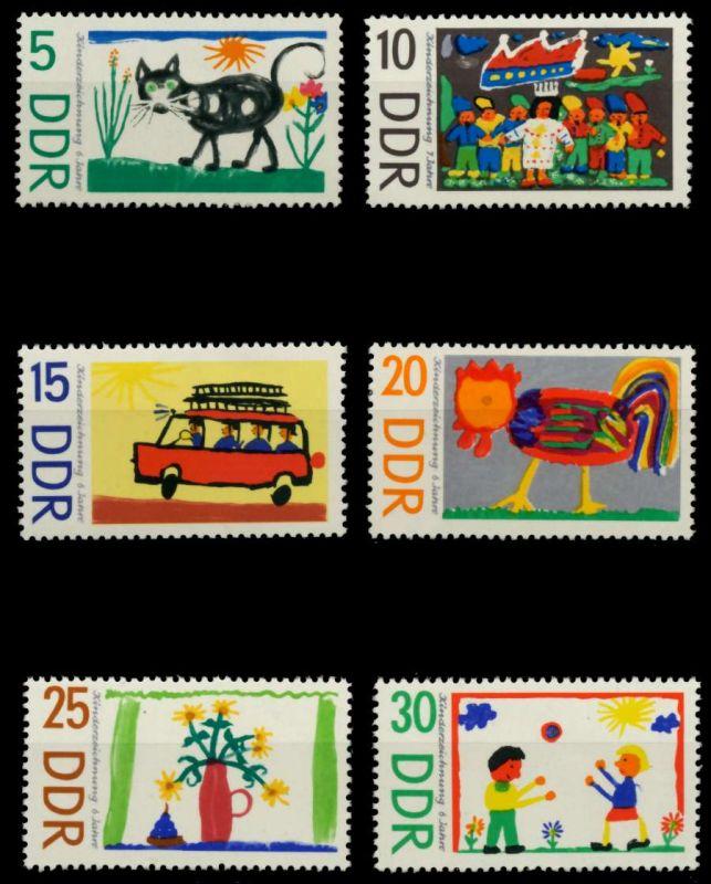 DDR 1967 Nr 1280-1285 postfrisch SFE72D6 0