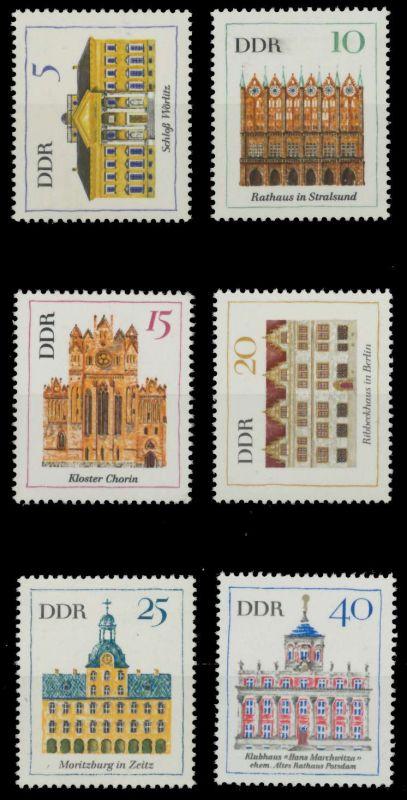 DDR 1967 Nr 1245-1250 postfrisch 907A5A 0