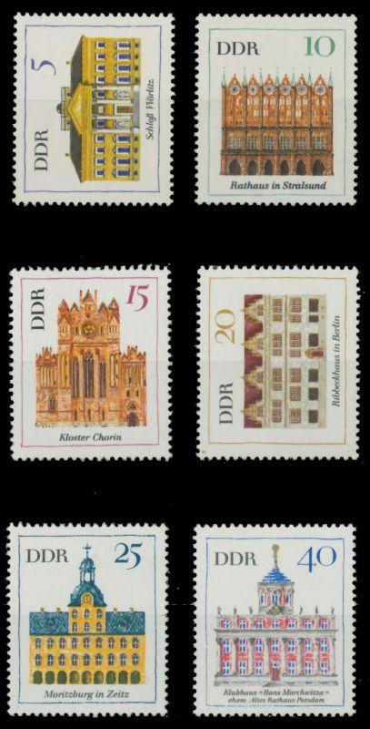 DDR 1967 Nr 1245-1250 postfrisch 907A66 0