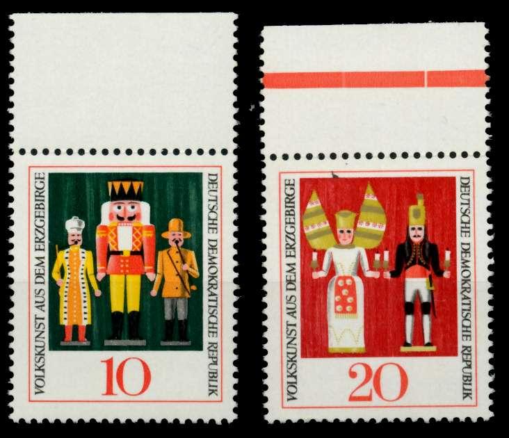 DDR 1967 Nr 1333-1334 postfrisch ORA 907ADE