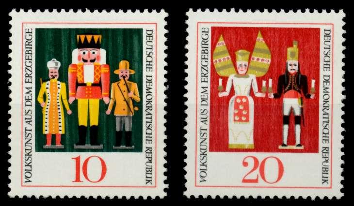 DDR 1967 Nr 1333-1334 postfrisch SFE743A 0