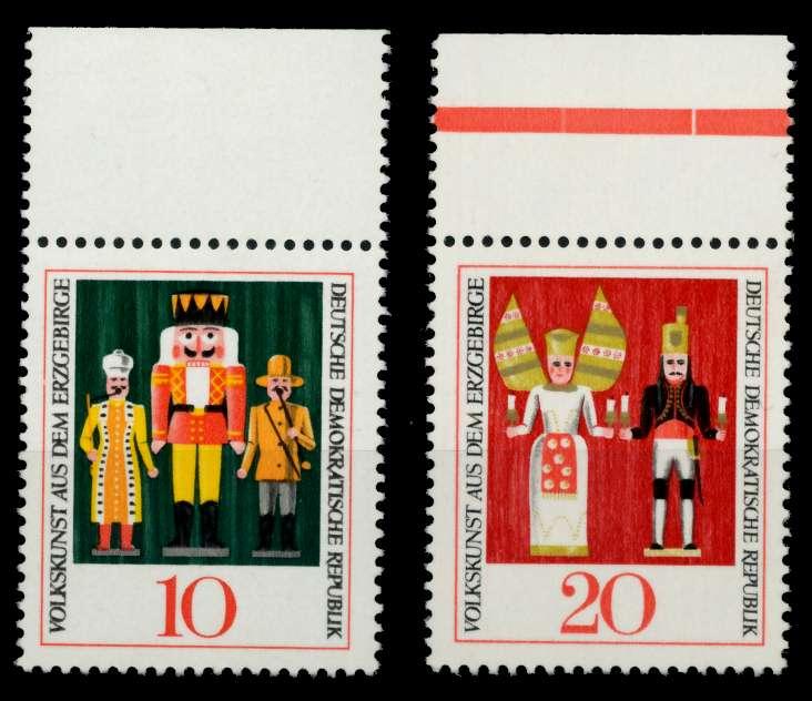 DDR 1967 Nr 1333-1334 postfrisch ORA 907B16 0