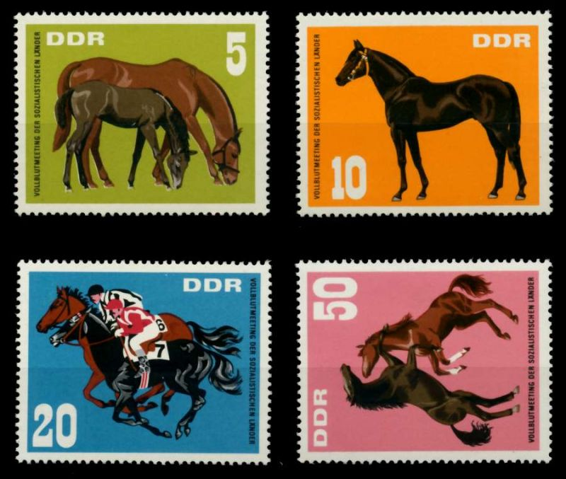 DDR 1967 Nr 1302-1305 postfrisch SFE7376 0