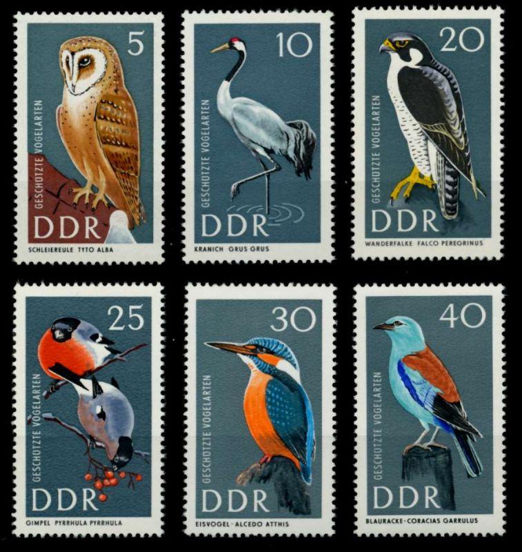 DDR 1967 Nr 1272-1277 postfrisch SFE72AA 0