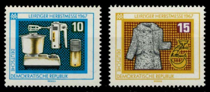 DDR 1967 Nr 1306-1307 postfrisch SFE7332 0