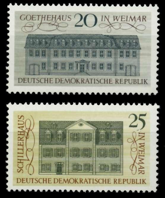 DDR 1967 Nr 1329-1330 postfrisch SFE73FE 0