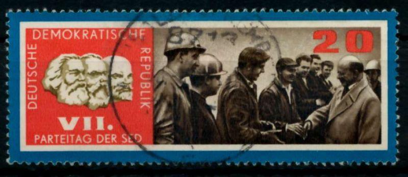 DDR 1967 Nr 1259 gestempelt 907D12 0