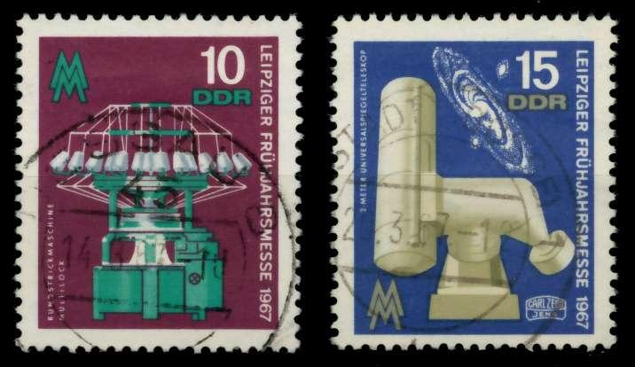DDR 1967 Nr 1254-1255 gestempelt 907D5E 0
