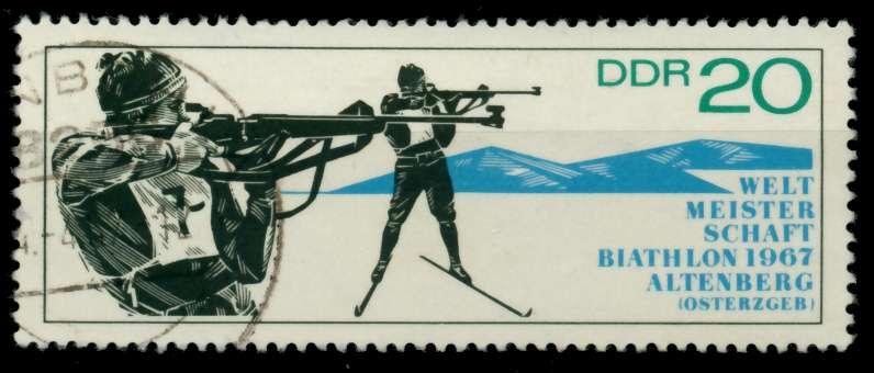 DDR 1967 Nr 1252 gestempelt 90AD8A 0