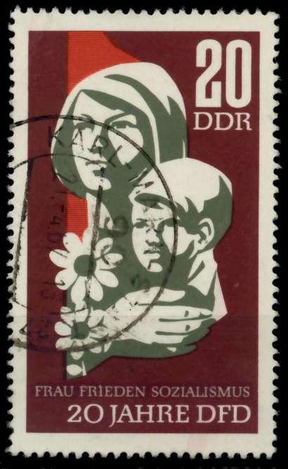DDR 1967 Nr 1256 gestempelt 90AE9E 0