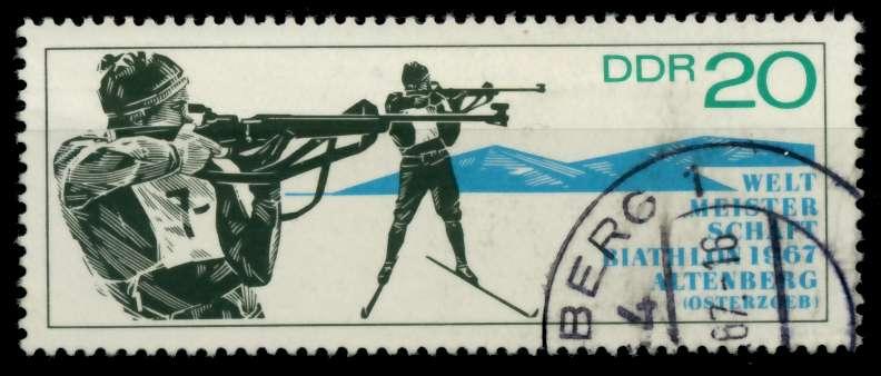 DDR 1967 Nr 1252 gestempelt 90AEBE 0
