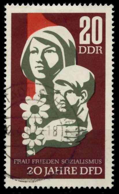 DDR 1967 Nr 1256 gestempelt 90AEEA 0