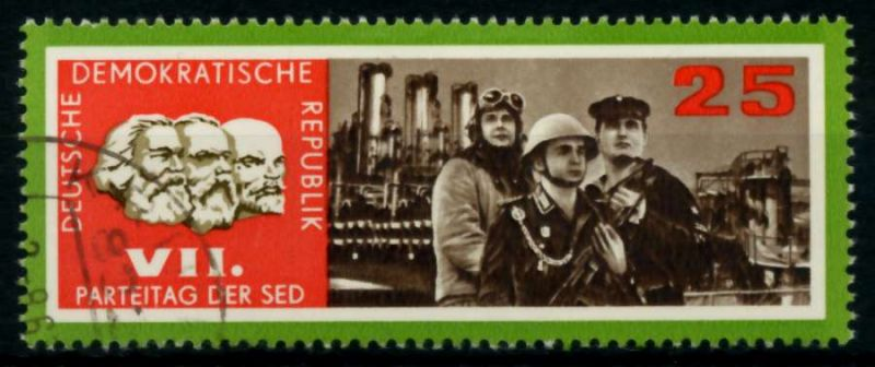 DDR 1967 Nr 1260 gestempelt 90AF06 0